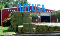 The hay barn at Hay USA